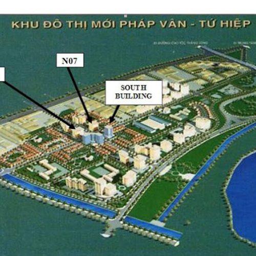 Chung cư South Building hút khách nhờ hạ tầng khu đô thị Pháp Vân