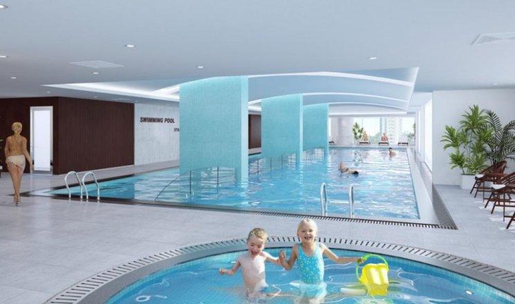 bể bơi chung cư 283 khương trung
