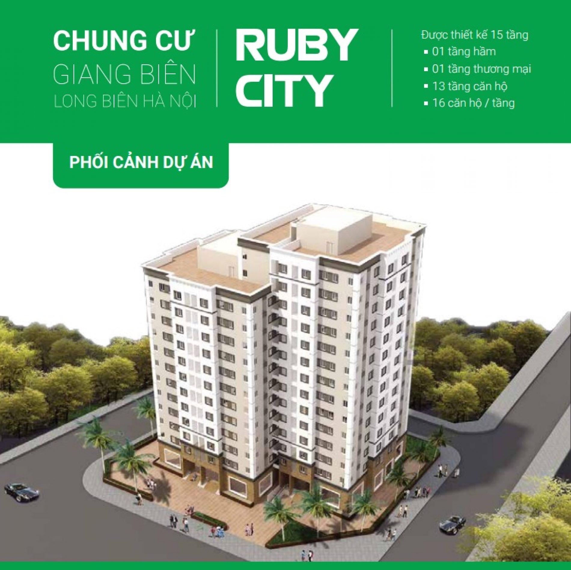 Chung cư Ruby City 2 Việt Hưng – Long Biên