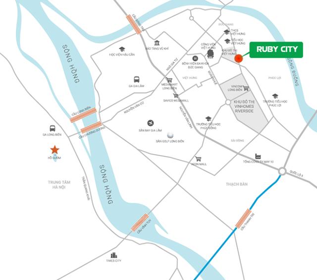 vị trí ruby city 2