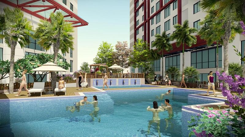 bể bơi dự án 360 giải phóng