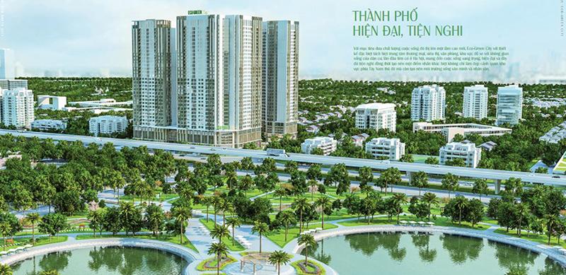 tổng quan dự án eco green city