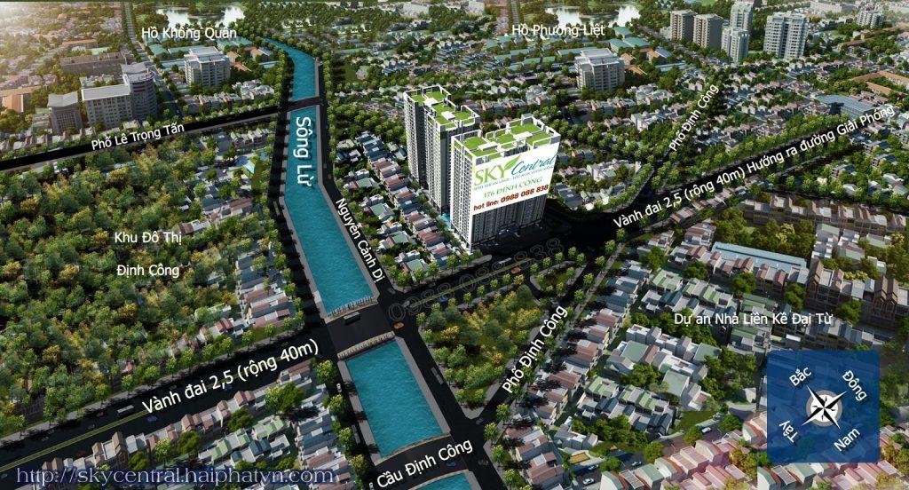 Chung Cư Sky Central 176 Định Công - Chung cư Hà Nội