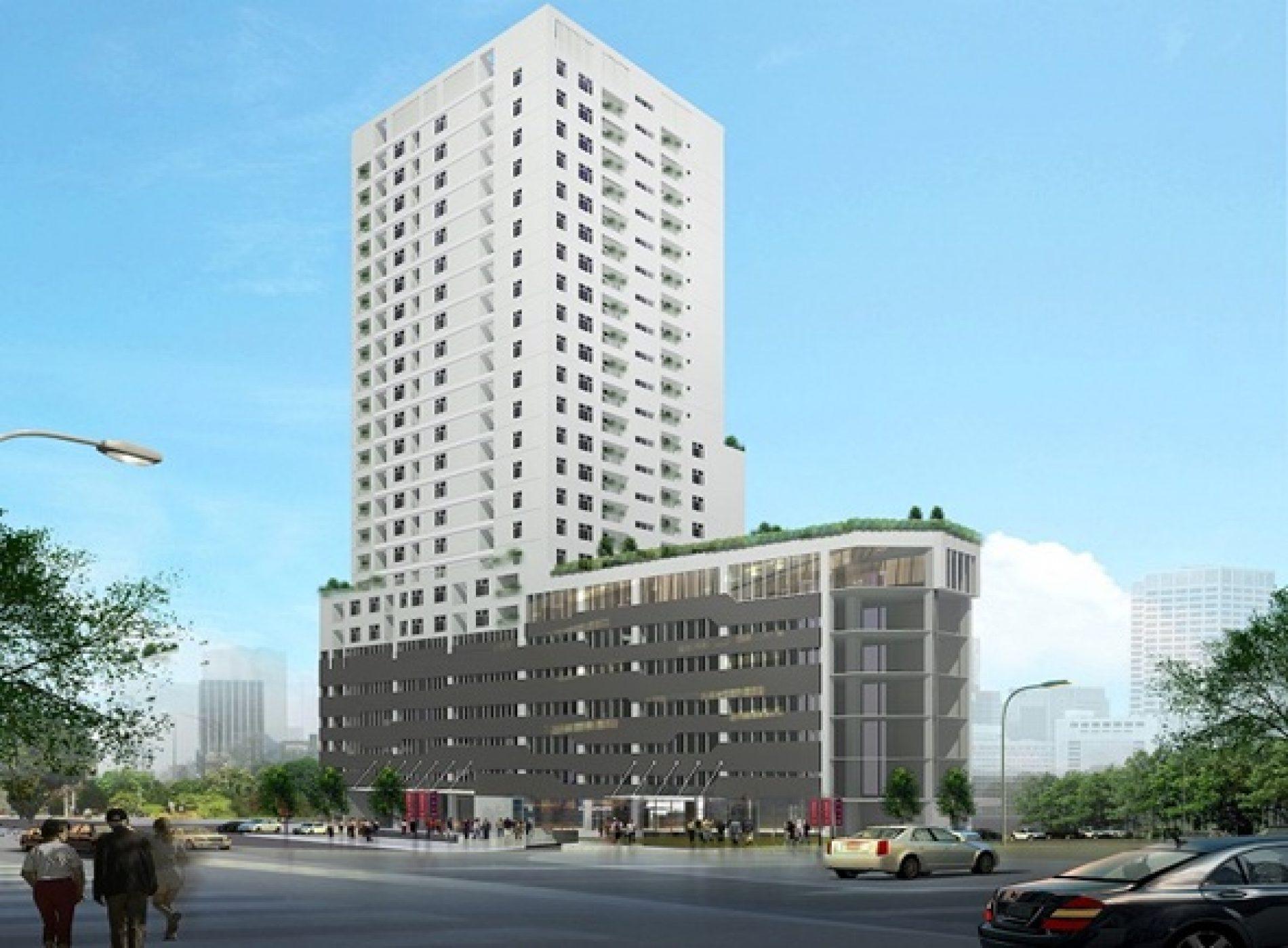 """Tân Hồng Hà Tower -căn hộ cao cấp có """"mặt tiền triệu đô"""" tại Trường Chinh"""