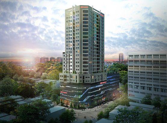 Phối cảnh tổng quan dự án Tân Hồng Hà Complex