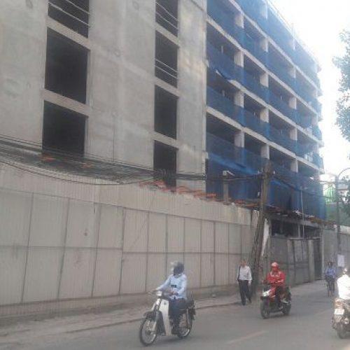 Tiến độ thi công dự án Tân Hồng Hà Complex