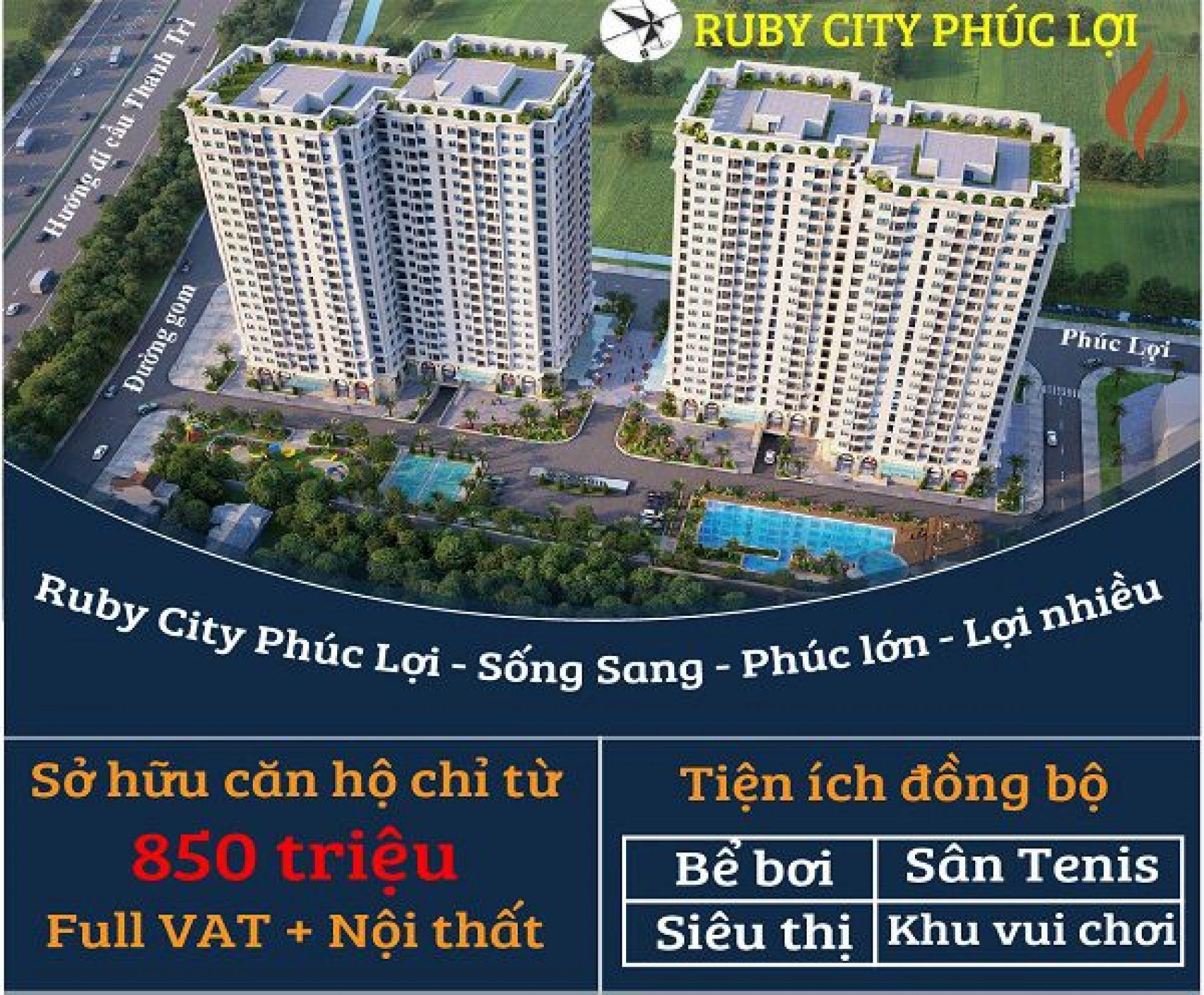Quy trình đặt mua chung cư ruby city ct3
