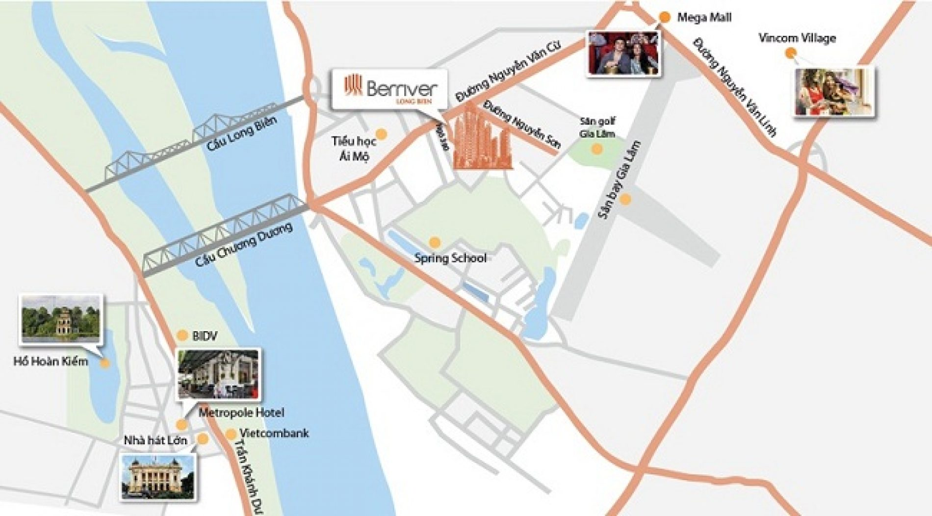 Premier Berriver Long Biên cách phố cổ 2km bắt đầu mở bán