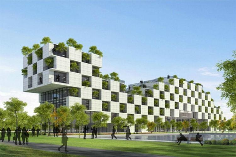 Công trình xanh giúp không gian sống thêm thân thiện hơn